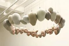 South Korean artist Choi Xoo Ang's metaphorical painted, polymer clay figures