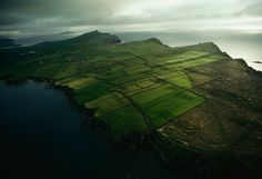 Picture of aerial view of the Three Sisters, a peninsula in Ireland