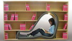 Coole Wohnideen - 10 ausgefallene und praktische Bücherregale  - http://wohnideenn.de/mobel/11/coole-wohnideen-bucherregale.html #Möbel