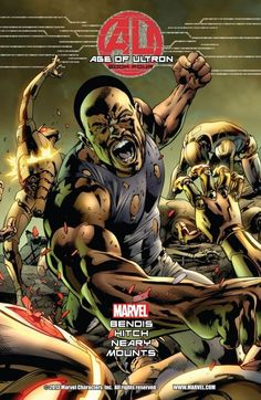Captain America has finally come up with a plan to combat Ultron.however, Luke Cage and She-Hulk weren't expecting to come face to face with the Vision! What is his role in the Age of Ultron? Hit the jump for a first look at issue Marvel Comic Character, Marvel Comic Books, Comic Book Characters, Marvel Characters, Age Of Ultron, Ultron Marvel, Luke Cage, Marvel Comics, Marvel Now