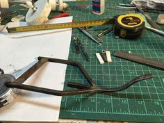 chassis acier  tricycle Hauteville House Christian Moreau