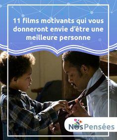 11 films motivants qui vous donneront envie d'être une meilleure personne Il existe des films #motivants qui se #convertissent en documents vivants exaltant la grandeur de l'esprit humain. Beaucoup d'entre eux sont le #témoignage de #Psychologie