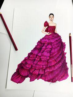 @AdelineLeeuw #fashiondesigndrawings,