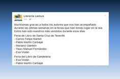 La biblioteca de Emma entre los más vendidos de la Librería Lemus en la Feria del Libro de Santa Cruz de Tenerife.