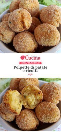 #Polpette di #patate e #ricotta della nostra utente Vittoria. Unisciti alla nostra Community ed invia le tue ricette!