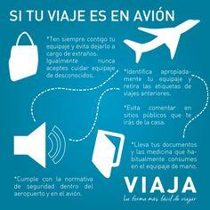 Tips para viajar en avión.