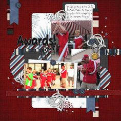Kit: Go For the Gold by Scraps N Pieces  Template: Template Pack 15 by AKDesigns