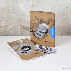 Krizzl - iPhone Hülle & Skizzenblock von goodgood