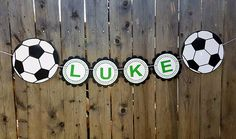 Items similar to Soccer Centerpieces, Soccer Birthday Party, Soccer Baby Shower on Etsy Soccer Birthday Parties, Football Birthday, Football Boys, Soccer Party, Birthday Party Themes, Soccer Baby Showers, Boy Baby Shower Themes, Baby Boy Shower, Soccer Centerpieces