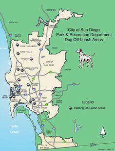 Off-Leash Dog Parks in San Diego