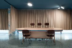 creates an aquamarine co-working space in Warsaw, named photographs by . Category: Co-Working space Hobby Lobby, Feng Shui, Angular Architecture, Office Open Plan, Design A Space, Shared Office, Multifunctional Furniture, Girly, Floor Colors