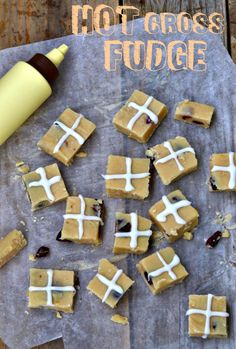 An Old Fashioned Lady: HOT CROSS FUDGE