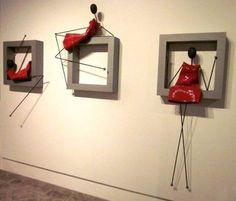Best 12 E-Mail – brigitte baumgartner – Outlook – SkillOfKing. Wire Art Sculpture, Wall Sculptures, Paper Mache Crafts, Wire Crafts, Metal Art, Wood Art, Decoration, Art Decor, Ceramic Wall Art