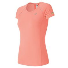 New Balance 63223 Women's NB Ice Short Sleeve - Pink (WT63223BES)