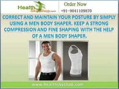 Buy online Men Body Shapers, purchase from healthskyshop.com