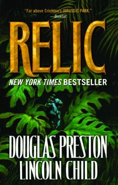 Relic - the books that started my Special Agent Pendergast obsession :) still making my way through the series