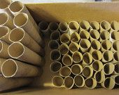 144 Empty Toilet Paper rolls cardboard tubes toilet paper tubes