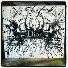 """Brat Artist - Vanity ShoppingBag Collection """"Dior""""   Available @samhartgallery Montreux, Switzerland"""