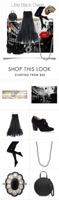 """60's Vibes"" by trysie ❤ liked on Polyvore featuring Oliver Gal Artist Co., Suzy Perette, Lands' End, Nordstrom Rack, Clare V. and Lime Crime"