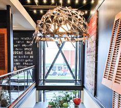 LEMAYMICHAUD | INTERIOR DESIGN | ARCHITECTURE | QUEBEC | RESTAURANT | Le Cochon Dingue Restaurants, Tower, Architecture, Design, Arquitetura, Rook, Computer Case, Restaurant