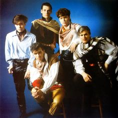 Spandau Ballet What They Couldnt Do With A Draped Scarf Wasnt 1980s BandsPop
