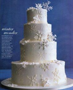 Winter Snow Cake ..