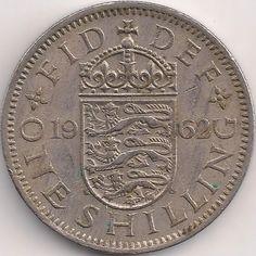 Wertseite: Münze-Europa-Westeuropa-Vereinigtes Königreich-<1971-Shilling-1-1954-1970-english