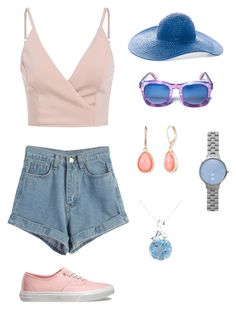 """""""For women :) (summer)"""" by skofild ❤ liked on Polyvore featuring WithChic, Vans, Chico's, Vintage America, Skagen and Amour"""