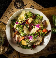 #whiskey #salad #food #dish #tasty Cobb Salad, Whiskey, Salads, Tasty, Dishes, Hot, Whisky, Tablewares, Salad