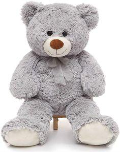 Cute Teddy Bear Pics, Huge Teddy Bears, Giant Teddy Bear, Teddy Bear Pictures, Giant Stuffed Animals, Disney Stuffed Animals, Teddy Beer, Disney Plush, I Love You Mom