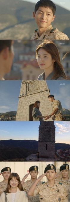 [Spoiler] Added episode 12 captures for the #kdrama 'Descendants of the Sun'