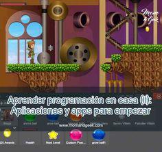 Aprender programación en casa (II): Aplicaciones y apps para empezar - Mom & Geek