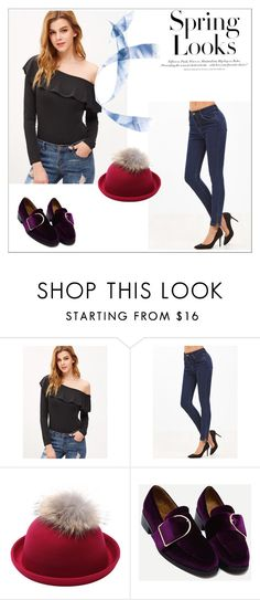 """""""Victoriawing 3"""" by umay-cdxc ❤ liked on Polyvore featuring H&M"""