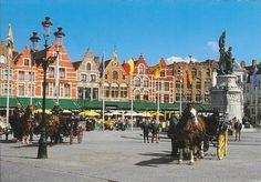 PK1260. Brugge.Marktplatz.