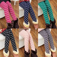 2014 winter polka dot girls clothing baby plus velvet thickening double layer long legging trousers kz 5361,High Quality trousers men,China trousers sport Suppliers, Cheap trousers outdoor from Kids Fashion Clothing - Worldwide Wholesale  on Aliexpress.com Harem Pants, Trousers, Cheap Pants, Girls Leggings, Kids Fashion, Girl Outfits, Polka Dots, Layers, Velvet