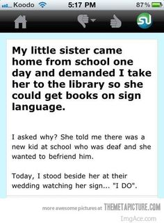 Most Heart Warming Thing Ever!