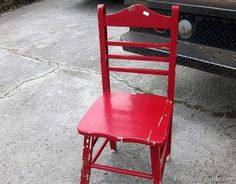 red chippy chair petticoat junktion