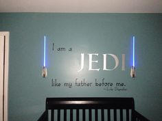 Lincoln's Star Wars Themed Nursery finished 2.22.14
