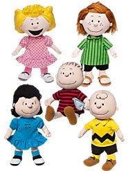 Plush Peanuts Dolls Mark Over 60 Years of Fun and Laughter-I WANT