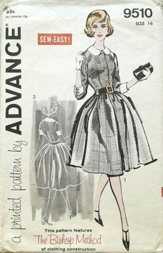 Advance 9510 sewing pattern