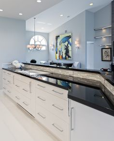 Curved Wall Design Custom Cabinet Hood Elmwood Cabinetry Wood