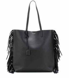 Medium leather shopper | Saint Laurent