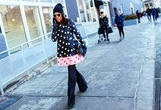 Street Style, Gabby Prescod #nyfw fall 2015