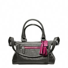 LEGACY TEXTURED LEATHER MOLLY SATCHEL