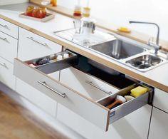 smart under-the-sink drawer storage