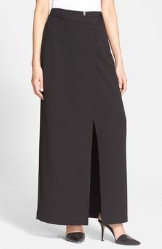 Alexander Wang Women's T Wrap Maxi Skirt | Clothing