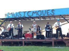 Jenna and Her Cool Friends opened the free Levitt AMP Middlesboro Music Series with some bluesy notes last weekend!