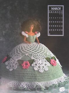 Annie's Attic Crochet Bed Doll Pattern March 1991 by joyalice, $4.50