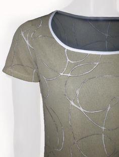 Rose Capa T-Shirt kurzarm in olive #OUTLETMODE, #Designeroutlet, #Outlet, #MODE , #Shirt,  #Bluse  - #DESIGNERMODE GÜNSTIG ONLINE alles immer 50% reduziert