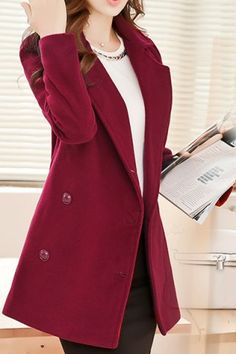 GET $50 NOW | Join RoseGal: Get YOUR $50 NOW!http://m.rosegal.com/coats/trendy-style-lapel-solid-color-136229.html?seid=7039884rg136229
